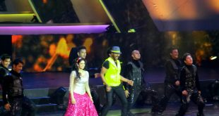 Sridevi With PrabhuDeva At th IIFA awards Macau