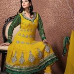 trendy mehndi bridals dress collection 2012 by design3r 8 150x150 Pakistani Bridal Dresses for Mehndi