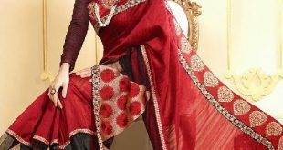 Christmas Saree   Sarees For Christmas Holiday