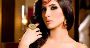 Beautiful Pakistani Fashion Model Uzma Khan