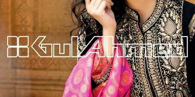 Gul Ahmed Embroidered Silk Velvet Coat Collection (4)