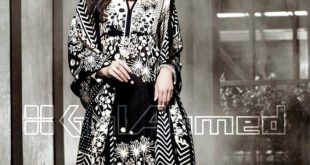 Latest Gul Ahmed Winter Dresses Collection  –  For Women