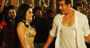 Poonam Chopra with Ravi Kishan