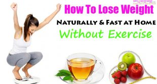 How To Lose Weight Naturally Fast at Home Without Exercise