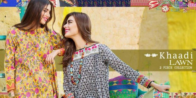 Khaadi Spring Summer  Volume   piece