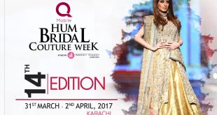 QMobile HUM Bridal Couture Week