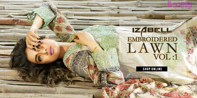 Izabell Embroidered Lawn Vol