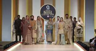 qmobile hum bridal couture week  day one