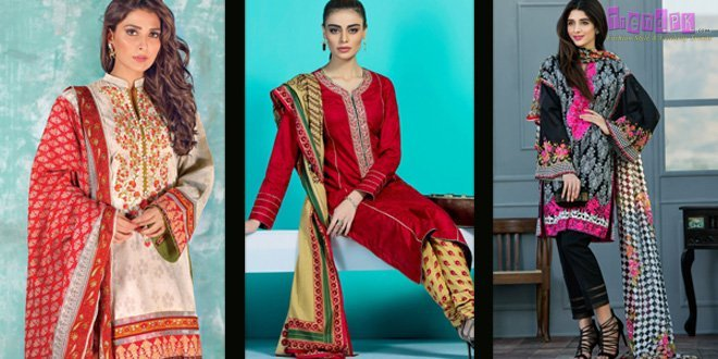 3 Pieces Embroidered Premium Eid Collection By Orient