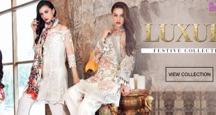 Luxury Festive - Gul Ahmed Eid Collection 2017