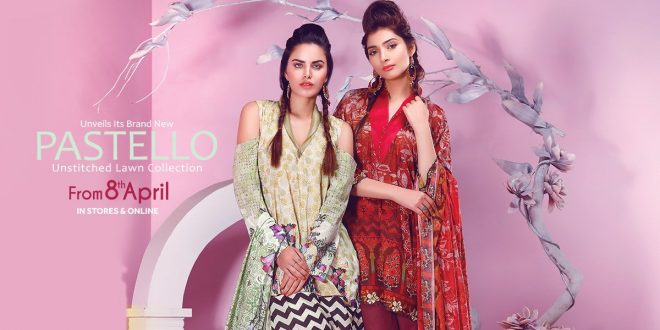 Pastello Lawn Collection 2017 By Warda